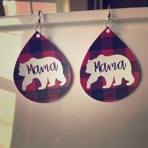 Jewelry - Mama Bear Earrings!